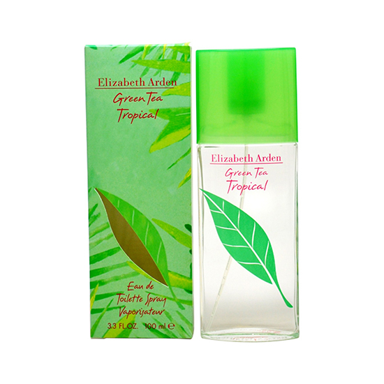 green tea tropical edt 100