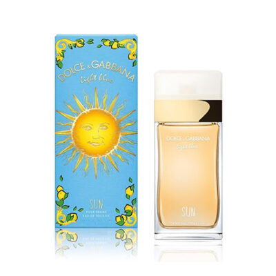 light blue sun pour femme edt xxml